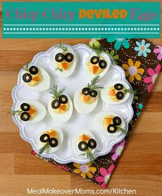 These adorable deviled eggs will delight your kids on Easter ... or any time of the year. And, eggs are nutritious.