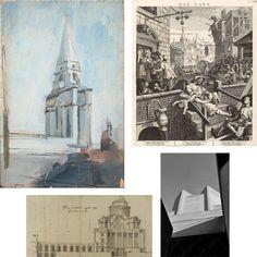 Hawksmoor exhibition at the Royal Academy of Art