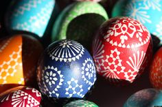 Brightly decorated eggs, Easter egg rolling and Easter egg hunts have become integral to the celebration of Easter today.   However, the tradition of painting hard-boiled eggs during springtime pre-dates Christianity. In many cultures around the wo...