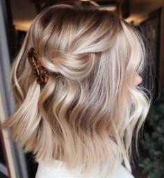 Hair Color And Cut, Ombre Hair Color, Hair Colour, Hairstyles Haircuts, Pretty Hairstyles, Bob Haircuts, Wedding Hairstyles, Medium Hair Styles, Short Hair Styles
