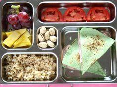 Healthy lunch ideas: Thursday: Ham and Feta Quesadillas