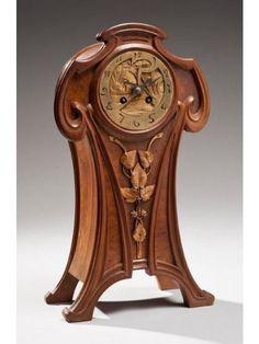 Clocks – Decor : Art Nouveau. -Read More –