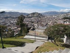 "Quito view of ""The Virgin"""