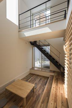#ダウンフロアリビング Stairs, Loft, House, Home Decor, Stairway, Decoration Home, Home, Room Decor, Staircases