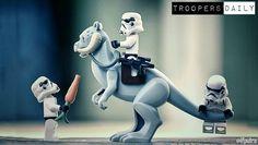 See this Instagram photo by @ifputra • #LegoStarwars #starwars #stormtroopers #tauntaun