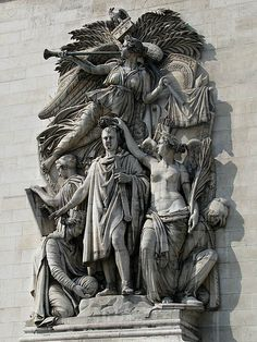 Nike The Goddess Of Victory Holding The Olive Wreath