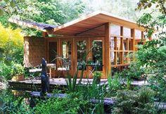 Luxe tuinhuisjes, een tuinhuis onder architectuur | Tuinhuis site | Goedkoop tuinhuisje bouwen.