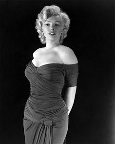 Hollywood Style...Marilyn Monroe. The inspiration to all curvy women to believe in themselves!!