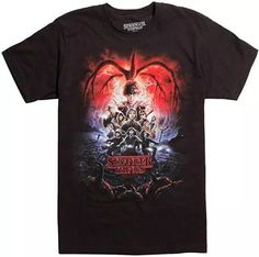 Shop Online Stranger Things Full Cast Season T-Shirt Officially Licensed Stranger Things T-shirt, so you can legally go into the upside down without being harassed by the man. Cotton, Amazing Perfect Gift for any Stranger Things fan . Stranger Things Eleven Shirt, Stranger Things Sweater, Stranger Things Gifts, Stranger Things Merchandise, Stranger Things Upside Down, Stranger Things Netflix, Full Cast, It Cast, Perfect Strangers