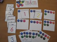 """A free preschool lesson plan using M's to study the letter """"M"""". Preschool Letter M, Free Preschool, Preschool Lessons, Alphabet Activities, Preschool Activities, Alphabet Art, Math Manipulatives, Numeracy, Learning Numbers"""
