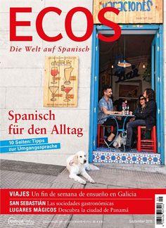 Spanisch für den Alltag. Gefunden in: ECOS - epaper, Nr. 9/2015