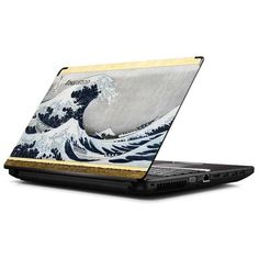 Shop the official Skinit The Great Wave off Kanagawa Laptop Skin design online. Show off your art style & buy a The Great Wave off Kanagawa Skin for any Laptop. Great Wave Off Kanagawa, Laptop Skin, Waves, Wallpapers, Design, Art, Art Background, Kunst