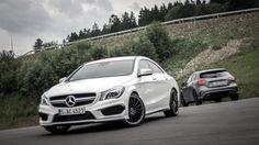 Mercedes-Benz CLA 45 AMG & A 45 AMG Test