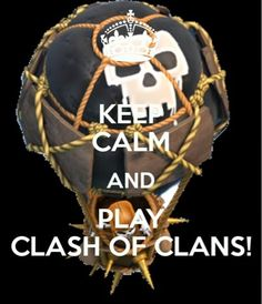 Keep calm and play clash of clans Keep Calm Photos, Clash Of Clans Hack, Clash Clans, Clash On, Free Gems, Lol, Clash Royale, Best Games, Cool Stuff