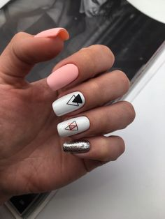 Chic Nails, Stylish Nails, Trendy Nails, Swag Nails, Summer Acrylic Nails, Best Acrylic Nails, Coffin Nails Matte, Gold Gel Nails, Manicure