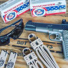 Kimber Firearms (@kimberamerica) | Twitter Kimber 1911, Warfare, Winchester, Firearms, Hand Guns, Weapons, Twitter, Jackets, 1911 Kimber