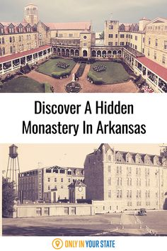 This beautiful, historic monastery is a hidden gem! Tour this Arkansas abbey, join the monks in prayer, visit as a retreat, or even buy custom condiments as souvenirs and to support their mission. Bucket List Destinations, Travel Destinations, Boys Boarding School, Best Bucket List, Hidden Beach, The Monks, Swimming Holes, Best Sites, Natural Wonders