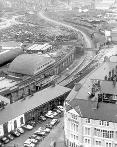 30 wonderful pictures of Hanley in the - Stoke-on-Trent Live Old Pictures, Old Photos, Old Train Station, Train Stations, High Street Shops, Air Raid, British Rail, Wonderful Picture, Stoke On Trent