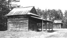 Distribution of Tobacco Barns in North Carolina