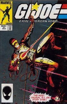 gi joe real american hero #1   Marvel's G.I. Joe: A Real American Hero Issue # 21c