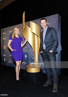 Actors Katheryn Winnick and David Sutcliffe attend the Academy's 2014 CSA Press Conference at the Ritz Carlton on January 2014 in Toronto, Canada. Get premium, high resolution news photos at Getty Images David Sutcliffe, Katheryn Winnick, January 13, Toronto Canada, Conference, Actors, Actor