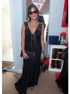 Jessica Szohr at the Coachella Guess Hotel Smoke & Mirrors Party.