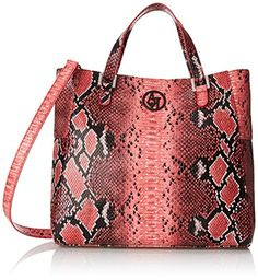 Designer Clothes, Shoes & Bags for Women Armani Jeans Bags, Python Print, Pink Handbags, Red Purses, Large Tote, Snake Print, Reusable Tote Bags, Printed, Amazon