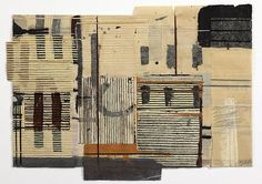 Factory Notebook,  Mixed media on paper bound with waxed thread, 25 x 40 cm, Matthew Harris