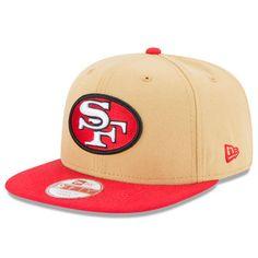 60b7d4d9c San Francisco 49ers New Era Historic Logo Baycik 9FIFTY Snapback Adjustable  Hat - Gold Scarlet