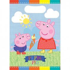 2 x Peppa Wutz Pig Ballon Folienballon Geburtstag Schwein rosa Schorsch