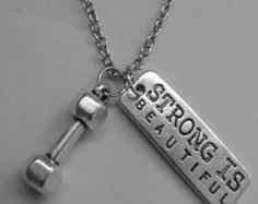 Popular items for strong is beautiful on Etsy