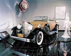 Jean Harlow's Car In Color