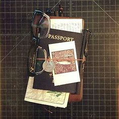 Passport: check, glasses: check, map: check. Excitement: check.   Good to go.