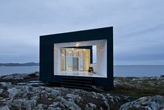 Studio on Fogo Island, NFLD.  Part of a new artist community