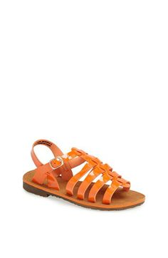 Laura Ashley Patent Sandal (Toddler, Little Kid & Big Kid) available at #Nordstrom