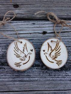 Questi ornamenti rendono unaggiunta meravigliosa a qualsiasi albero! Essi funzionano bene come una coppia, o dare uno a una persona cara e mantenere uno per te :) #Coppia