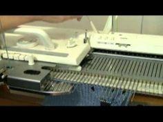 Machine Knit Fern Lace Demo by Diana Sullivan by Diana Sullivan