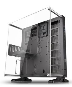 Buy Thermaltake PC Cases in Cyprus Thermaltake Core ATX Wall-Mount Chassis. Take presentation to the next level with the Core Open Frame chassis by Thermaltake. Gaming Computer Setup, Computer Build, Gaming Desktop, Computer Case, Computer Technology, Desktop Computers, Computer Projects, Office Desktop, Pc Cases