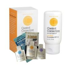 Control Corrective Oil-Free Sunscreen Lotion SPF30 - 2.5 oz. with Assorted Sample 6-Pack by Control Corrective. $31.00. Control Corrective Oil-Free Sunscreen Lotion SPF30. Samples will very and will include an assortment from Control Corrective, Ecrinal, Akileine, Heliabrine, Coup d'Eclat or other product lines. Control Corrective Oil-Free Sunscreen Lotion SPF30 is non-greasy and non-comedogenic. This hydrating sunblock lotion is ideal for all skin types and can be used as a ...
