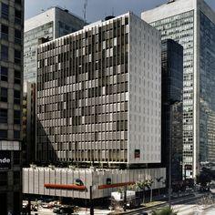 Clássicos da Arquitetura: Banco Sul-Americano / Rino Levi, © Nelson Kon
