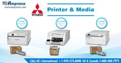 Mitsubishi printers offer high speed and high-resolution digital monochrome with worldwide compatibility for medical applications. The controls are conveniently located on the front panel making it simple and friendly to operate. Get it TODAY by calling toll-free 800.400.7972 or shop at www.ampronix.com