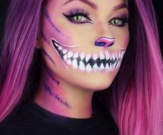 #halloweenmakeup #cheshirecat