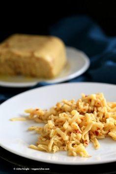 Vegan Pepper Jack Cheese with Almond Milk. Glutenfree Recipe - Vegan RichaBloglovinFacebookGoogle+InstagramPinterestRSSTwitterYouTube