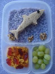 Shark Bento lunches