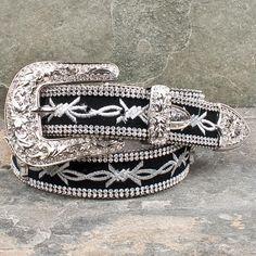 Longhorn Barbed Wire Belt By Atlas....New show belt!! :D