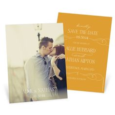 "What Are Save the Date Cards? We hear this question a lot, along with ""Does everybody send them?"" and ""Who do I send them to?"""