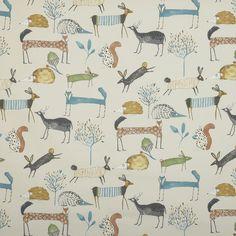 Oh My Deer Curtain Fabric