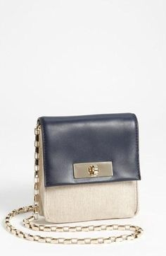 kate spade new york lincoln square - shane leather & canvas crossbody bag | Nordstrom | gonpin.me