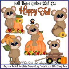 Fall Bears Colors kg 2015 CU