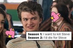 "17 Tumblr Posts That Give Steve From ""Stranger Things"" The Praise He F#%king Deserves ❤️❤️❤️"